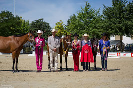 EWU Landesmeisterschaft 2015 - Landesmeister Showmanship at Halter