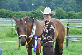 EWU Landesmeisterschaft 2012 - Landesmeister Showmanship at Halter