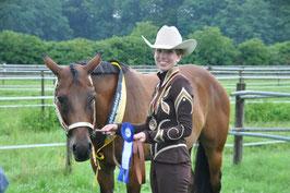 EWU Landesmeisterschaft 2012 - Landesmeister Showmanship at Halter
