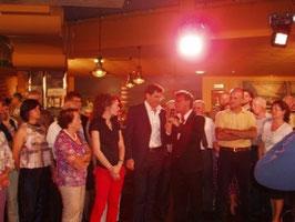 Presentazione di Moriondo da parte del Sindaco Beppe Grande e del Presidente della pro Loco Renato Zucca