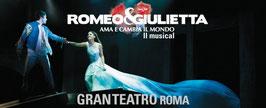 """Concerto di fine anno con il Musical prodotto da David Zard di  """"Giulietta e Romeo"""""""