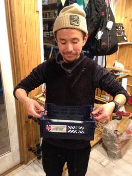 MINI BOX(小) 全12色 ¥430(税込)