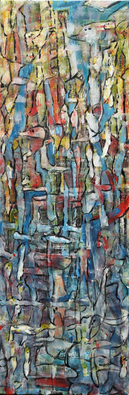 Sequel to promise, 40x115 cm. No. 64