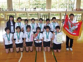第69回東毛地区中学校競技大会・バレーボール