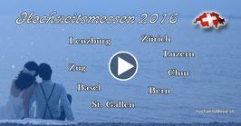 Schweizer Hochzeitsmessen 2016