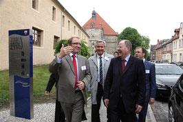 Peer Steinbrück besucht Nienburg