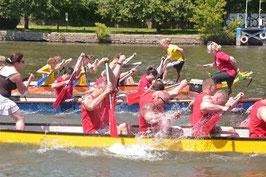 Drachenbootrennen Bernburg