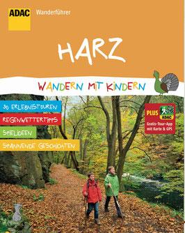 """Buchcover Reiseführer """"Harz: Wandern mit Kindern"""""""