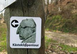 Schild Kästeklippentour Harz