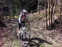 """Kästeklippentour: Mit dem Mountainbike zum """"Alten Mann"""""""