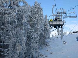 Skifahren Wurmberg Sessellift