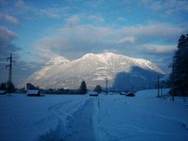 Garmisch im Schnee