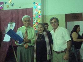 Prof. José Luís Fragalo y Prof. Amira Valli