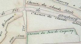 Bornage des chemins (1878).