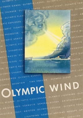 Stapellaufgedicht Olympic Wind