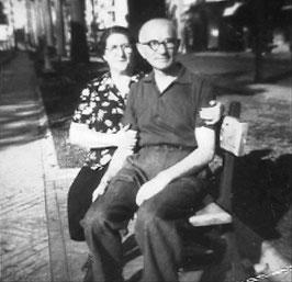Die Eltern Lina und Nathan Sondheimer in Brasilien