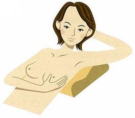 「家で行う乳がんチェック」より引用