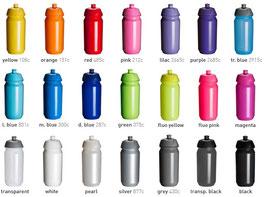 Shiva 500ml Bottle Colours