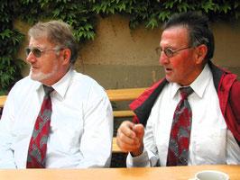 Die Brüder Oskar und Erwin Umbricht