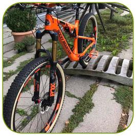 günstiges carbonrad mit customdecals einzeln erhältlich
