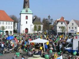 Glücksburg Abschlußkundgebung