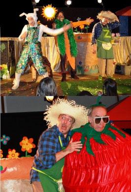 Spectacle pour enfants - LES GUIGNOLOS - Quel cirque, ce jardin !
