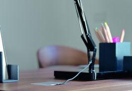Büromöbel Büro Profibüro Home-Office Schreibtisch Bürokorpus Unterstellkorpus Bürostuhl Bürosessel Team7 Massivholz-Büromöbel Massivholz