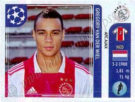 N° 248 - Grégory VAN DER WIEL (2011-12, Ajax Amsterdam, HOL > 2012-??, PSG)