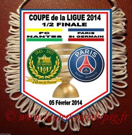 Fanion  Nantes-PSG  2013-14