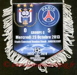 Fanion  Anderlecht-PSG  2013-14