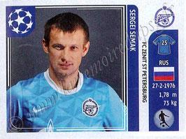 N° 456 - Sergei SEMAK (2004-06, PSG > 2011-12, Zenith Saint-Petersburg, RUS)