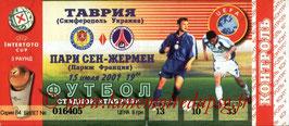 Ticket  Simferopol-PSG  2001-02