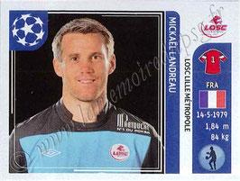 N° 108 - Mickaël LANDREAU (2006-09, PSG > 2011-12, Lille)