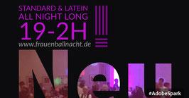 Tanzen die ganze Nacht 19-2h