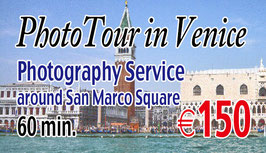 Photo Tour in Venice Photography Service €150