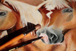 Gemälde aus Acrylfarben
