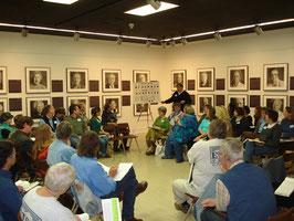 Dan teaches the class. November 3, 2007.