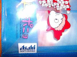L'etichetta cucita sulla borsa