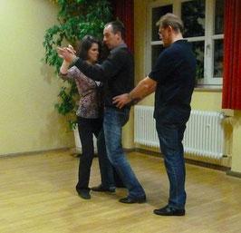 Korrektur der Tanzhaltung