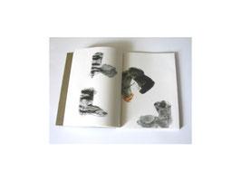 """""""schluffen"""", 2007; 21 Zeichnungen, Gouache, Stift, Kreide"""