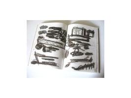 """""""speichern"""", 2008; 14 Zeichnungen, Kreide, Bleistift, Kuli"""