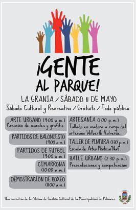 Distrito La Granja, sábado 11 de mayo de 2013
