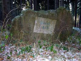 Wegstein am Steinweg