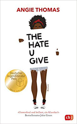 The hate u give angie thomas buchcover Jugendbuch Bestseller