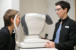 Augenprüfung mit modernster Messtechnik