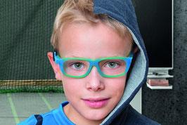 Stylische Kinderbrille gut geeignet für den Sport