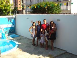 Família de Brasília em viagem de passeio à Paraíba ficou em nossa Pousada e consolidou a nossa amizade, voltem sempre, estamos à disposição!!!