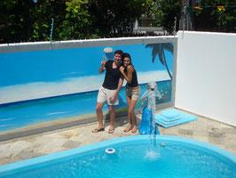Tiego, fotógrafo profissional, autor de 70% das fotos desta página, e Ariane, estilista e produtora, estiveram na nossa Pousada no período de 06 a 12 de junho de 2010!