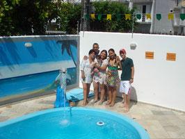 ST Milton do 72 BI(Garanhuns) e sua família esteve conosco em maio de 2010!
