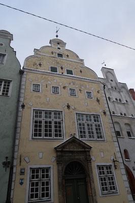 Die Drei Brüder, Häuserreihe in Riga